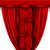 vektor · piros · selyem · függöny · árnyékok · háttér - stock fotó © Panaceadoll
