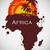 Afryki · sawanna · fauna · flora · niebo · tekstury - zdjęcia stock © Panaceadoll