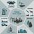 インフォグラフィック · 汚染 · 人間 · 活動 · 車 · ツリー - ストックフォト © Panaceadoll