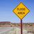 yol · işareti · sel · görüntü · render · kullanılmış - stok fotoğraf © pancaketom
