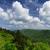 enfumaçado · montanhas · belo · ver · céu - foto stock © pancaketom