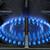 печи · подробность · газ · синий · пламя · темно - Сток-фото © pancaketom
