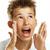 erkek · çığlık · atan · beyaz · çocuklar · yüz · çocuk - stok fotoğraf © paolopagani
