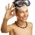 erkek · dalış · maske · beyaz · su · çocuklar - stok fotoğraf © paolopagani