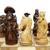 chess pieces isolated on white stock photo © papa1266