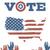 americano · presidencial · eleição · estrela · gráfico - foto stock © pashabo