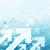 azul · flechas · caótico · patrón · resumen · negocios - foto stock © pashabo