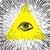 olho · triângulo · vintage · magia · símbolo - foto stock © pashabo