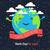 karikatür · toprak · şerit · metin · gezegen · gülümseme - stok fotoğraf © pashabo