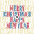 merry christmas letterpress concept with colorful letters stock photo © pashabo