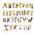 képregény · színes · ábécé · vektor · szett · szöveg - stock fotó © pashabo