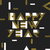 happy new year postcard golden gold geometric typography vect stock photo © pashabo