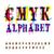 alfabeto · cor · preto · vetor · abstrato · fundo - foto stock © pashabo