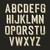 vintage alphabet letters stock photo © pashabo