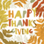 happy thanksgiving day design cover holiday background template stock photo © pashabo