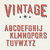 vintage red grunge and shadowed alphabet letters stock photo © pashabo