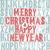 merry christmas letterpress concept stock photo © pashabo