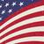 волнистый · американский · флаг · иллюстрация · вечеринка · синий · флаг - Сток-фото © pashabo