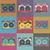 retro · pop · de · audio · patrón · cassette - foto stock © pashabo