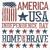gün · ABD · parti · uçan · örnek · bayrak - stok fotoğraf © pashabo