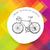 vintage · fiets · vector · silhouetten · sport · fiets - stockfoto © pashabo