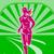 female run marathon retro poster stock photo © patrimonio