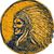 родной · американских · индейцев · воин · сторона · иллюстрация - Сток-фото © patrimonio