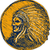 native american indian chief headdress drawing stock photo © patrimonio