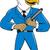 bald eagle policeman baton cartoon stock photo © patrimonio