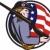 hazafi · amerikai · csillagok · csíkok · zászló · illusztráció - stock fotó © patrimonio