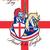 happy st george day proud to be english retro poster stock photo © patrimonio
