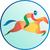 carreras · de · caballos · vista · lateral · ilustración · aislado · blanco · estilo · retro - foto stock © patrimonio