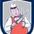 slager · mes · supermarkt · lam · vers · vertrouwen - stockfoto © patrimonio