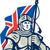 Royaume-Uni · pavillon · satin - photo stock © patrimonio