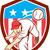 baseball · giocatore · cartoon · illustrazione · giocatore · di · baseball - foto d'archivio © patrimonio