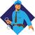 policeman handcuffs diamond retro stock photo © patrimonio