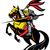 knight on horse with sword stock photo © patrimonio