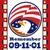 american eagle patriot day 911 poster greeting card stock photo © patrimonio