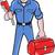 vízvezetékszerelő · tart · majom · franciakulcs · illusztráció · áll - stock fotó © patrimonio