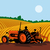 landbouwer · rijden · trekker · familie · handen · gelukkig - stockfoto © patrimonio