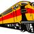 diesel · tren · dos · naturaleza · verano · acero - foto stock © patrimonio