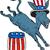 demokrat · eşek · 3D · beyaz · star · Amerika - stok fotoğraf © patrimonio