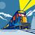 дизельный · поезд · локомотив · природы · пейзаж · цвета - Сток-фото © patrimonio