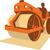 út · homok · autópálya · építkezés · munka · bélyeg - stock fotó © patrimonio