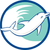 dolphin jumping waves circle retro stock photo © patrimonio