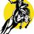 rodeo · cowboy · w · stylu · retro · ilustracja · amerykański · jazda · konna - zdjęcia stock © patrimonio
