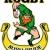 irish leprechaun rugby player running with ball stock photo © patrimonio