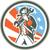 american patriot holding wrench circle retro stock photo © patrimonio