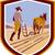 фермер · лошади · ретро-стиле · иллюстрация · области · вид · сзади - Сток-фото © patrimonio