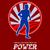 runner running power retro poster stock photo © patrimonio